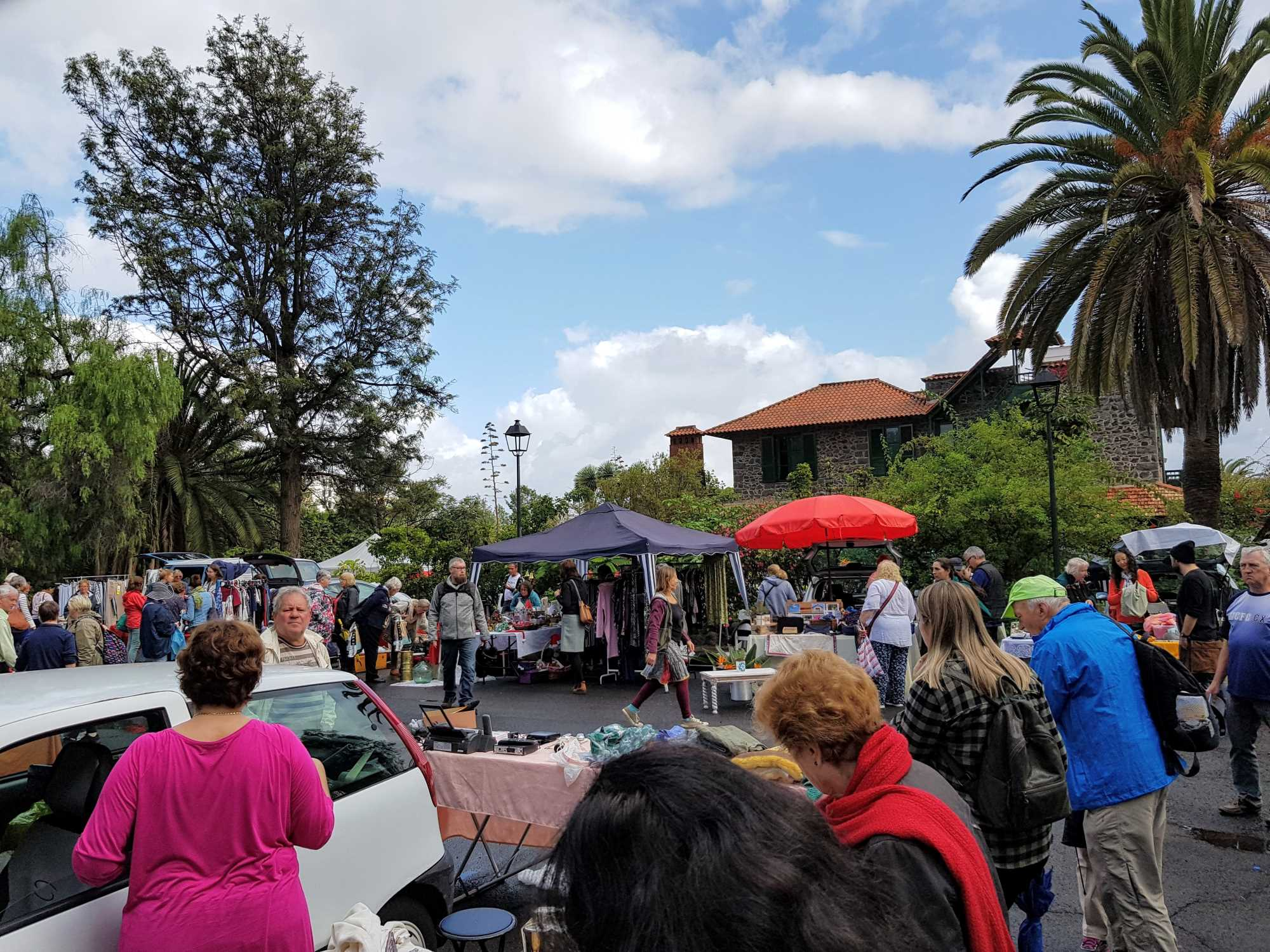 Car Boot Sale in Puerto de la Cruz