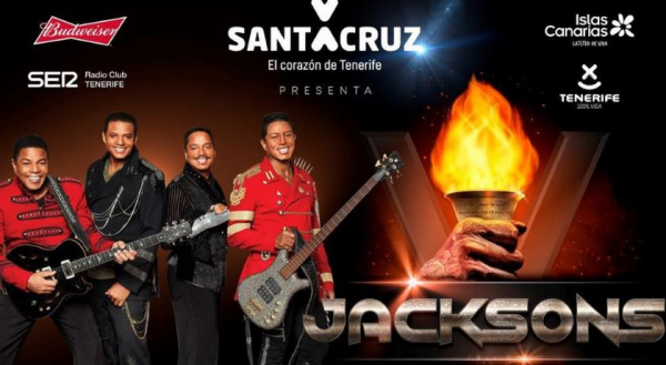 The Jacksons Concert Tenerife 2018