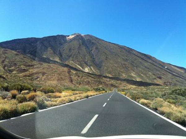 Driving on Tenerife